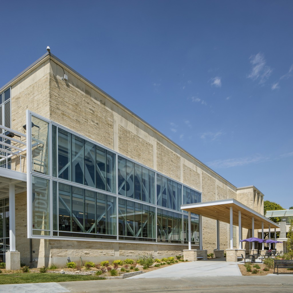 K State Architecture: K-State Student Union